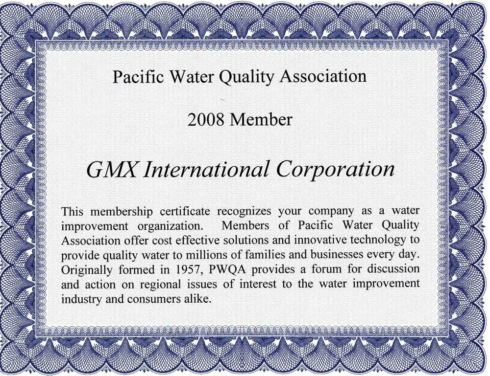 The installation of the GMX water softener and conditioning system is an easy do-it yourself